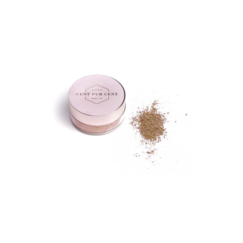 Cent Pur Cent Bronzer Mineral Pdr Libre Bronze 7g