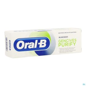 Oral B Dentifrice Purify Nettoyage Intense 75ml