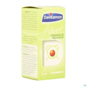 Davitamon First Vit D Aquosum V1 25ml