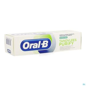 Oral B Dentifrice Purify Extra Fraicheur 75ml
