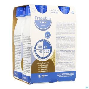 Fresubin 2kcal Drink Cappuccino Easybottle 4x200ml