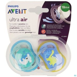 Philips Avent Sucette +18m Air Boy Koala Dino