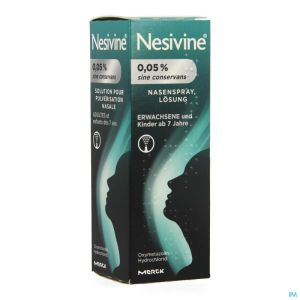 Nesivine 0,05% Sine Conserv Spray Nasal 10ml
