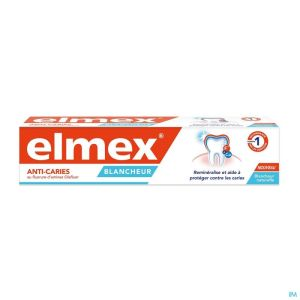 Dentifrice Elmex® Anti Caries Blancheur Tube 75ml