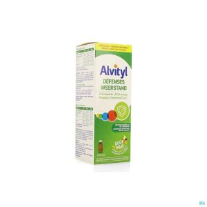 Alvityl Defenses Sirop 240ml Nf