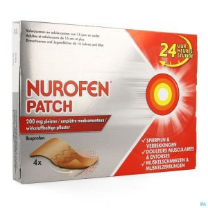 Nurofen Patch 200mg Emplatre 4