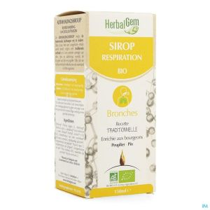 Herbalgem Sirop Respiration Bio Enf-adulte 150ml