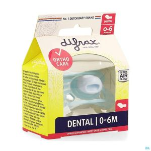 Difrax Sucette Silicone Mini-dental 0-6m 799
